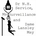 Dr N.H. Service, Ms Surveillance, and Dame Lansley May