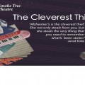 The Cleverest Thief - a one woman show about dementia