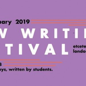 UCL Drama Society Present: New Writings Showcase